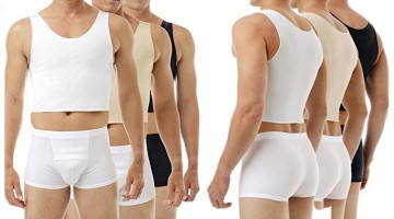 There are many good quality chest binders available. This is an Underworks Tri-top chest binder