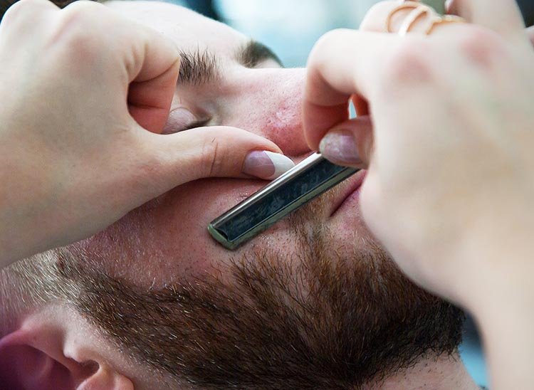 A Guide to Shaving for Trans Men. Once you have enough facial hair, one of the most gender-affirming things you can do is to have your face shaved at a barber shop